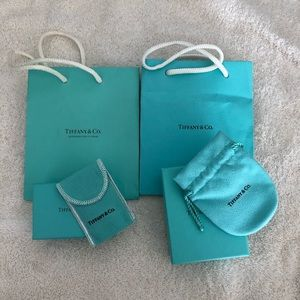 Tiffany Jewelry Boxes, Pouches and Bags